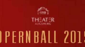 Opernball Augsburg 2015
